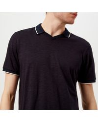 Ted Baker - Trophy Neck Polo Shirt - Lyst