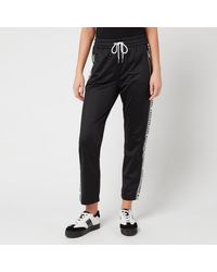 Armani Exchange Joggers With Taping - Black
