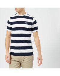 Barbour - Bass Stripe T-shirt - Lyst