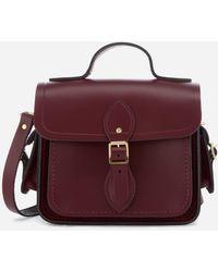 Cambridge Satchel Company Traveller Bag With Side Pockets - Purple