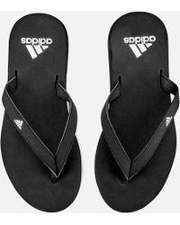 adidas - Eezay Essence Flip Flops - Lyst