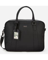Ted Baker Degrees Textured Document Bag - Black