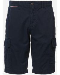 Tommy Hilfiger John Cargo Light Twill Shorts - Blue