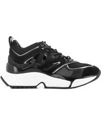 Karl Lagerfeld Aventur Delta Lo Mix Sneakers - Black