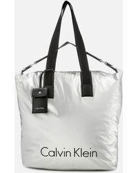Calvin Klein - City Nylon Shopper Bag - Lyst