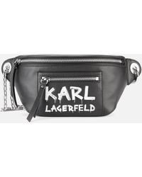 Karl Lagerfeld K/soho Graffiti Bumbag - Multicolour