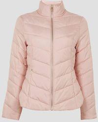 Ted Baker Renika Packaway Padded Jacket - Pink