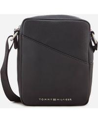 Tommy Hilfiger | Th Diagonal Mini Reporter Bag | Lyst