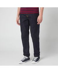 Nudie Jeans Steady Eddie Ii Straight Jeans - Blue