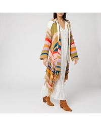 Free People Beach Cardigan Combo - Orange