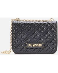 Love Moschino Quilted Medium Shoulder Bag - Multicolour