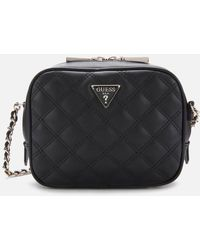 Guess Cessily Mini Camera Bag - Black