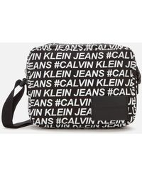 Calvin Klein Sport Essentials Multi Logo Camera Bag - Black