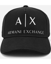 206d23bc438e Armani Exchange Logo Cap in Red for Men - Lyst