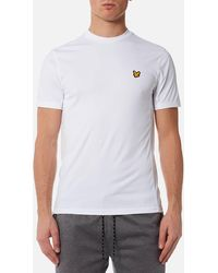 Lyle & Scott - Peters T-shirt With Mesh Panels - Lyst
