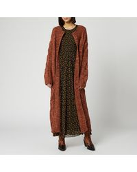 Free People Keep In Touch Cardigan - Brown