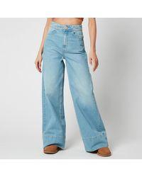 Free People Talia Trouser Jeans - Blue