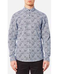 Michael Kors - Slim Charles Print Shirt - Lyst