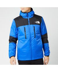 The North Face Himalayan Light Synthetic Hooded Jacket - Blue