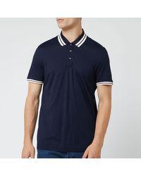 Ted Baker Kazza Ribstart Polo Shirt - Blue
