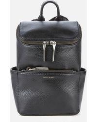 Matt & Nat Brave Mini Dwell Backpack - Black