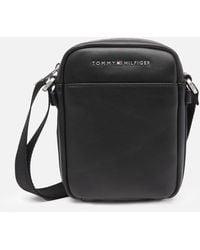 Tommy Hilfiger City Mini Reporter Bag - Black