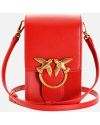 Pinko Love Smart Simply Bag - Red