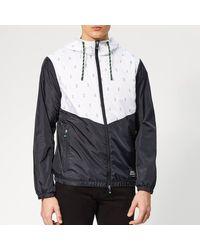 Armani Exchange Outline Detail Jacket - Blue