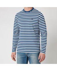 Barbour Stormforce Matelot Long Sleeve T-shirt - Blue