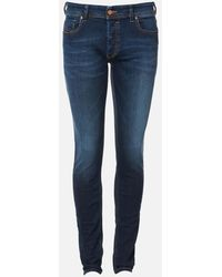DIESEL Sleenker Denim Jeans - Blue