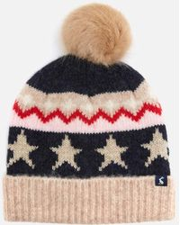 Joules Wilbury Hat - Natural