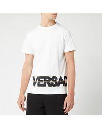 Versace Jeans Welt Logo T-shirt - White
