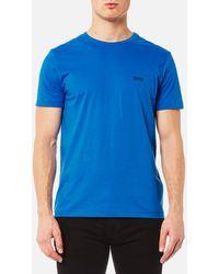 BOSS Green - Small Logo T-shirt - Lyst