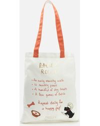 Radley Life Is What You Bake It Medium Tote Bag - Natural