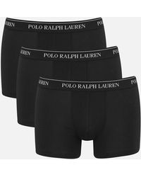 Polo Ralph Lauren 3 Pack Trunks - Black