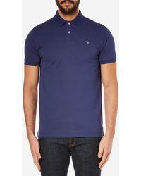 Hackett - Tailored Logo Polo Shirt - Lyst