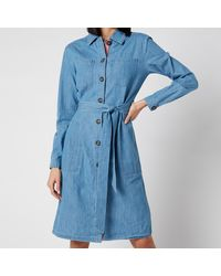 Barbour Tynemth Dress - Blue