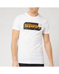 Superdry Core Logo Tag T-shirt - White