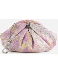 Nunoo Saki Clutch Bag - Pink