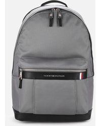 Tommy Hilfiger Elevated Nylon Backpack - Grey