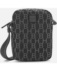 BOSS by Hugo Boss Pixel Monogram Cross Body Bag - Black