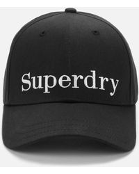 Superdry Embroidery Cap - Black