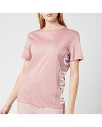 Ted Baker Abbee Slogan T-shirt - Pink