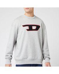 DIESEL Division Sweatshirt - Gray