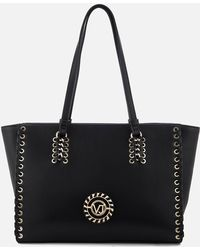 Versace Jeans - Whip Stitched Tote Bag - Lyst