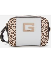 Guess Kamryn Cross Body Top Zip Bag - Multicolour
