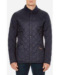 Barbour Heritage Liddesdale Quilt Jacket - Blue