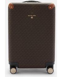 MICHAEL Michael Kors Travel Signature Small Hardcase Trolley - Brown