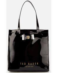 Ted Baker Soft Large Icon Bag - Black
