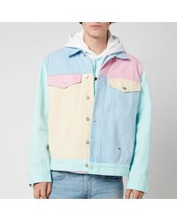 Tommy Hilfiger Colorblock Denim Jacket - Blue